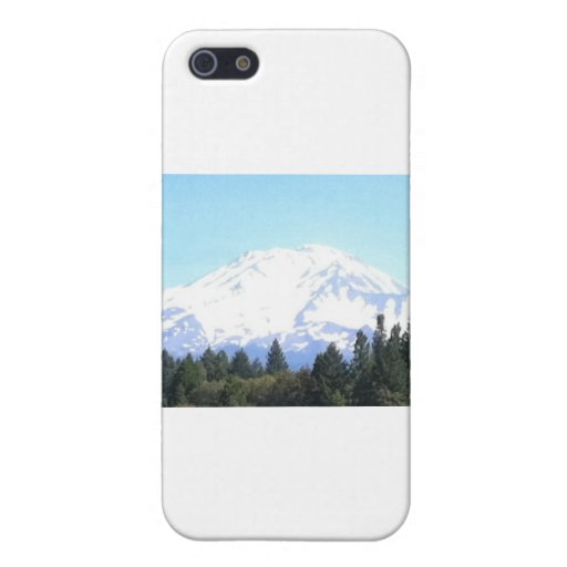 Mount Shasta iPhone 5 Cover