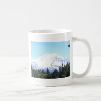 Mount Shasta Basic White Mug