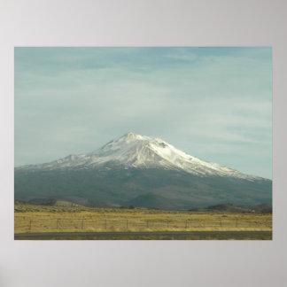 Mount Shasta Photo Poster