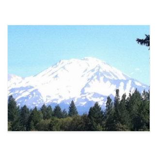 Mount Shasta Post Card