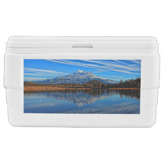 MOUNT SHASTA REFLECTED IGLOO CHEST COOLER