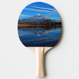 MOUNT SHASTA REFLECTED PING PONG PADDLE