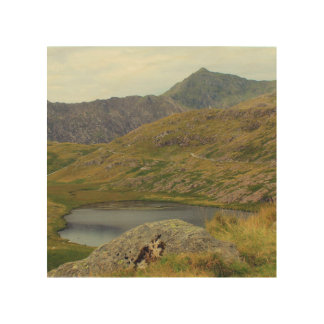 Mount Snowdon Wood Wall Art