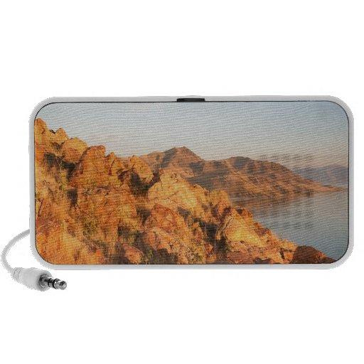 Mountain Antelope Island Sunset Notebook Speaker