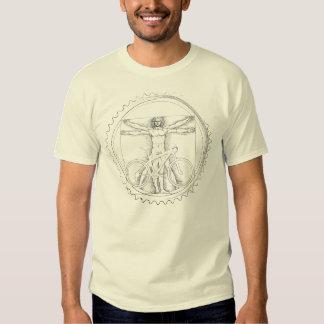 Mountain Bike Art T Shirt