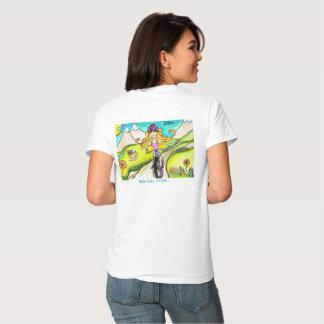 Mountain Bike Girl Tee
