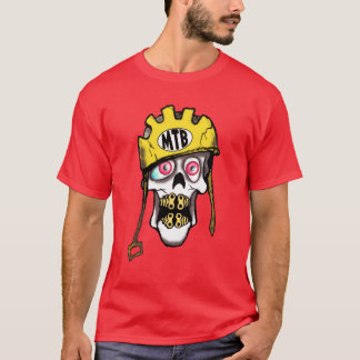 Mountain Bike Skull T-Shirt