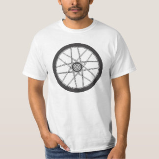 Mountain bike wheel shirt