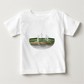 Mountain Biking Baby T-Shirt