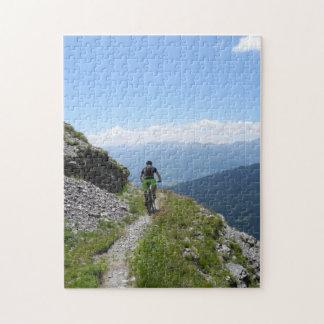 Mountain Biking Jigsaw Puzzle