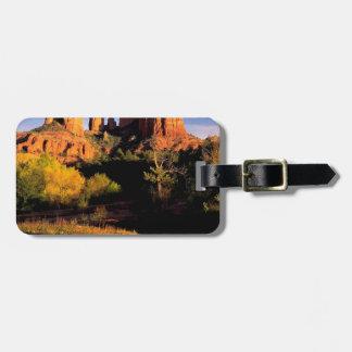 Mountain Cathedral Rock Sedona Arizona Bag Tags