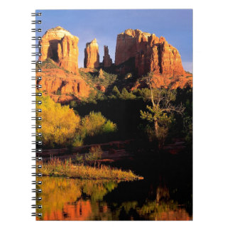 Mountain Cathedral Rock Sedona Arizona Spiral Note Books