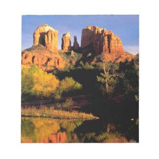 Mountain Cathedral Rock Sedona Arizona Memo Notepads