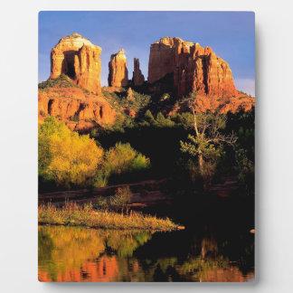 Mountain Cathedral Rock Sedona Arizona Plaque