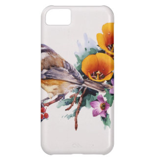 Mountain Chickadee with Berries iPhone 5C Case