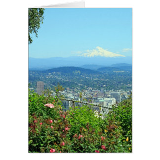 Mountain City Scenic, Portland, OR Card