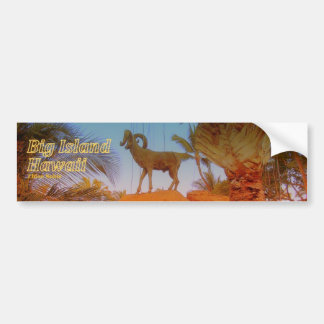 Mountain Goat - Hawaii Skateboard Sticker
