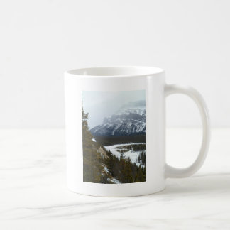 Mountain in the Distance at Banff National Park Coffee Mug