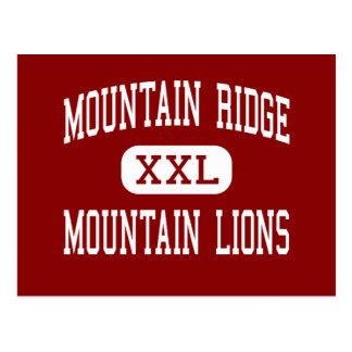 Mountain Ridge - Mountain Lions - High - Glendale Postcard