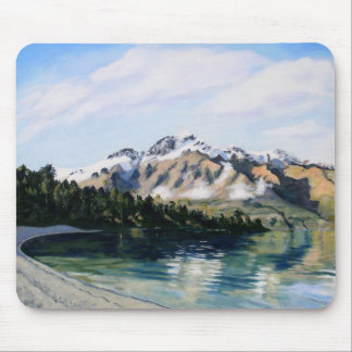 Mountain scene mouse pad