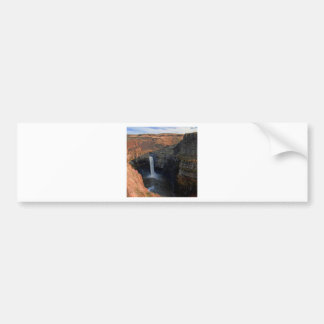 Mountain Sprung Leak Waterfall Bumper Sticker