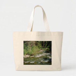 Mountain Stream Large Tote Bag