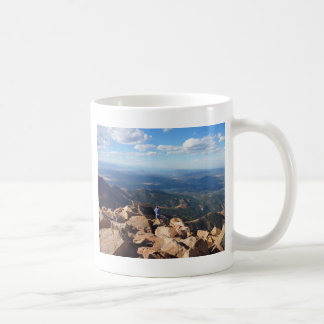 Mountain view at the top of Pikes Peak Coffee Mug
