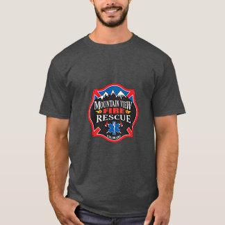 Mountain View Coloardo Fire Rescue T-Shirt