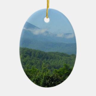 Mountain view keepsake ornament by bbillips