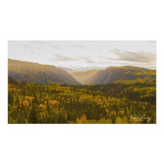 Mountain View Photo Print