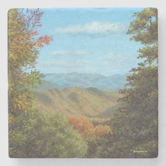 Mountain View Stone Coaster