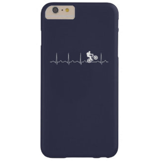 Mountainbike Heartbeat Barely There iPhone 6 Plus Case