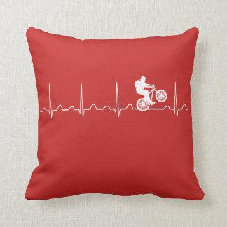 Mountainbike Heartbeat Cushion