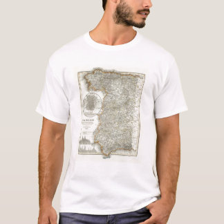 Mountains and Rivers of Madrid T-Shirt