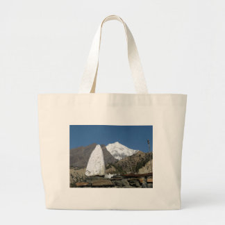 Mountains in Nepal Jumbo Tote Bag