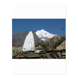 Mountains in Nepal Post Card