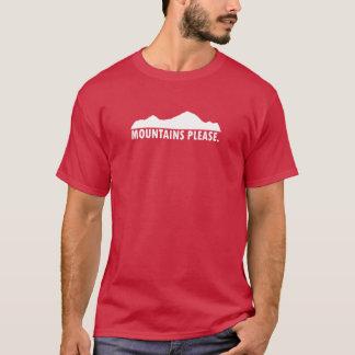 Mountains Please T-Shirt