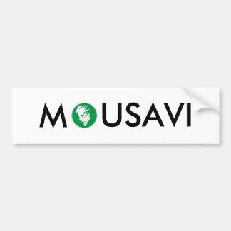 Mousavi bumper sticker