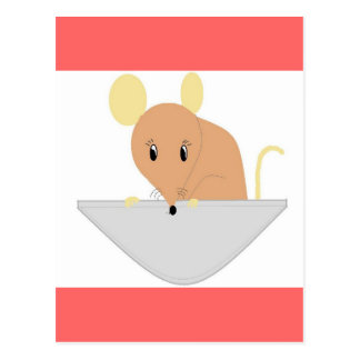 Mouse in Your Pocket Postcard