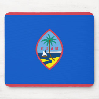 Mouse pad with Flag Guam - USA