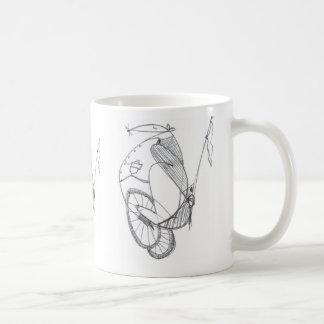 Mouse scribble (2), Mouse scribble (2), Mouse s... Basic White Mug