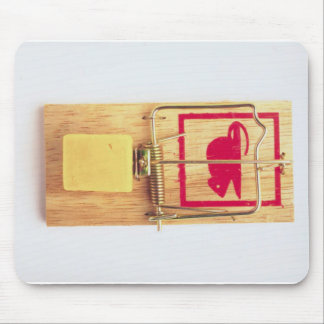 mouse trap mousepad