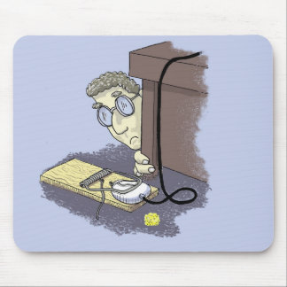 Mouse Trapped! Mouse Pad