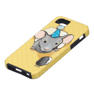 Mouse Wearing Party Hat Case For The iPhone 5