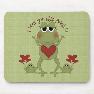 Mousemat - I love you this much Mousepads