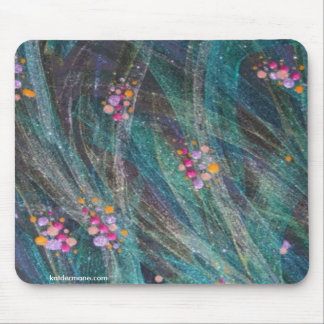"""Mousepad - """"Colored Bubbles On Seaweed"""""""