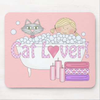 Mousepad Cute Cats Love Cat Lover Products Mouse Pads