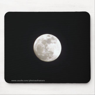 Mousepad - Full moon on clear night sky