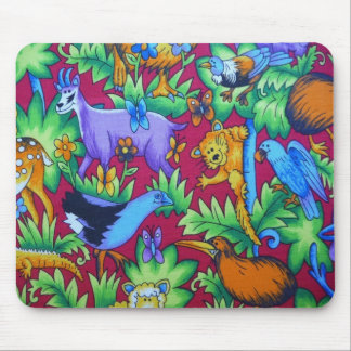 Mousepad in New Zealand Animals Design