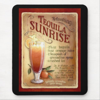 Mousepad Tequila Sunrise Mouse Pads